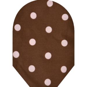Pink Brown Polka Dot 700x700