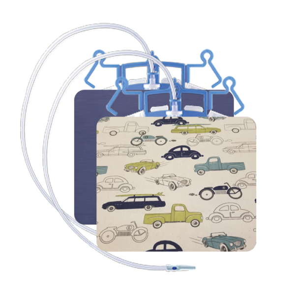 URINARY BAG SET NAVY & CARS