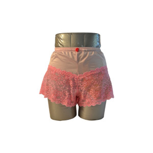 Pink Lace Boyshorts