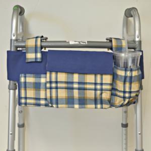 Yello & Blue Pattern Walker Caddy