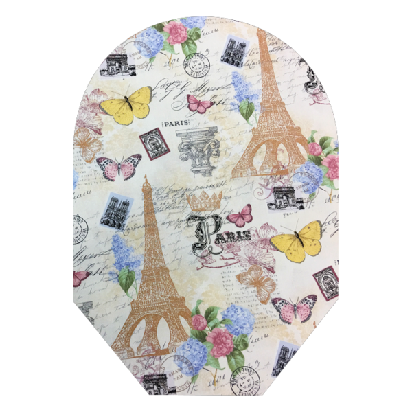 paris cover with white background