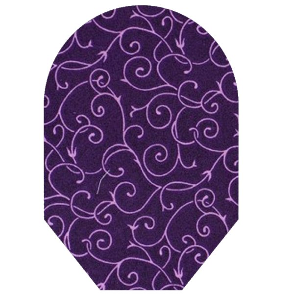 women's geometic purple white background