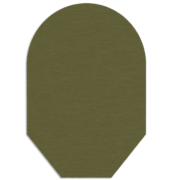 ARMY GREEN POUCH COVER – CLOSED END