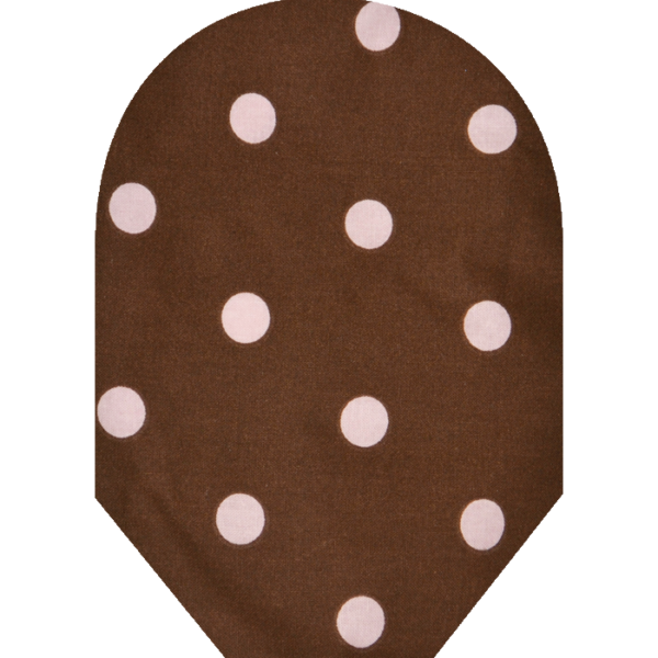 Pink Brown Polka Dot 700×700