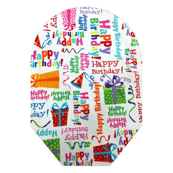 Happy Birthday White Background