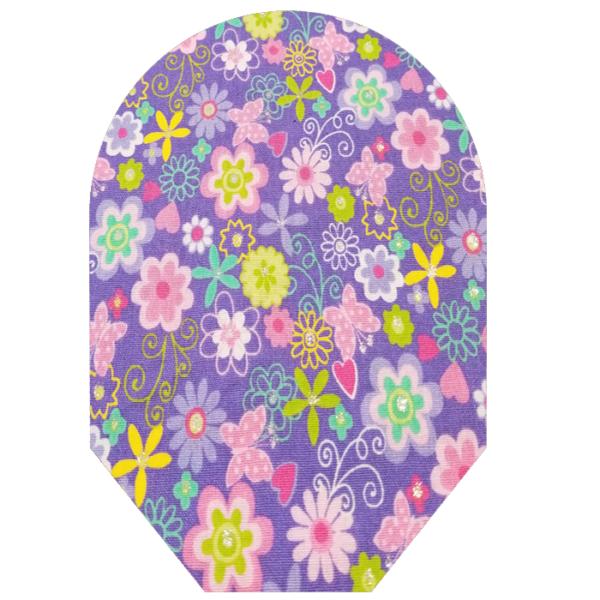 girls purple flowers