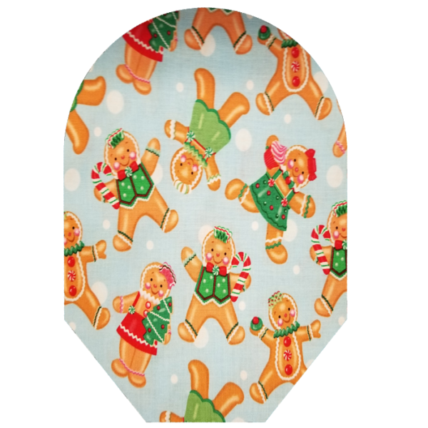 Gingerbread covers White Background