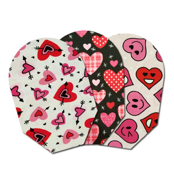 valentines – three pack