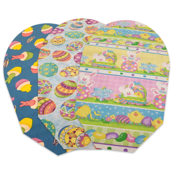 EASTER THREE PACK POUCH COVERS